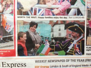 windsor and eton express irish state visit