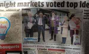 Michael Parkinson in Maidenhead Advertiser