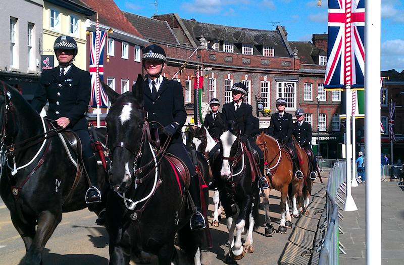 police mounted