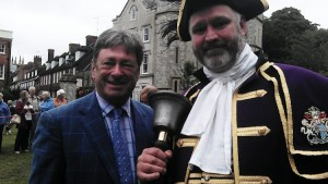 town crier with alan titchmarsh