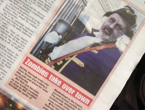 zombie town crier