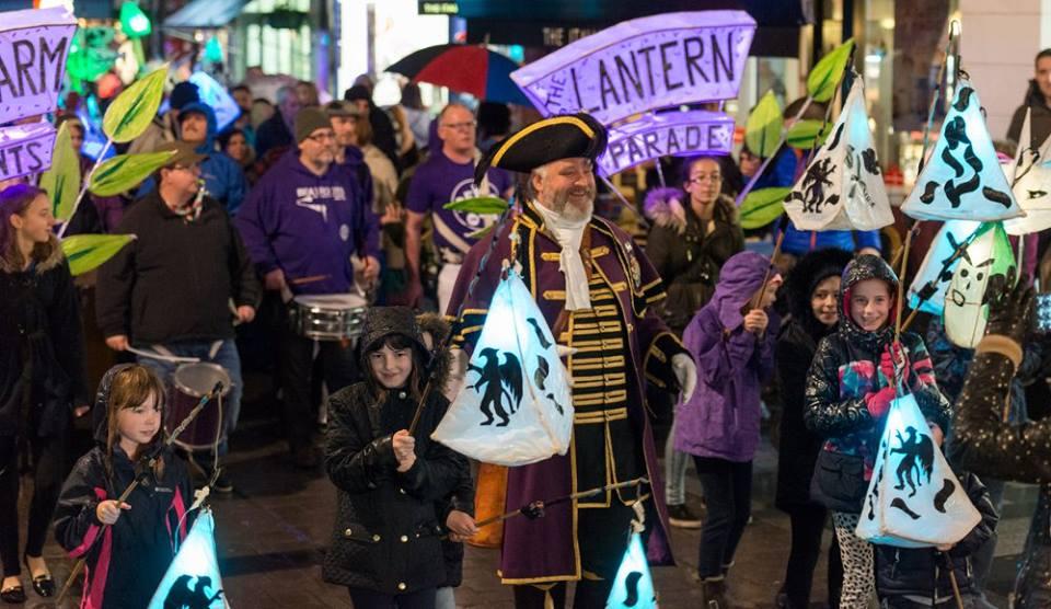 fun at maidenhead lantern parade 2016