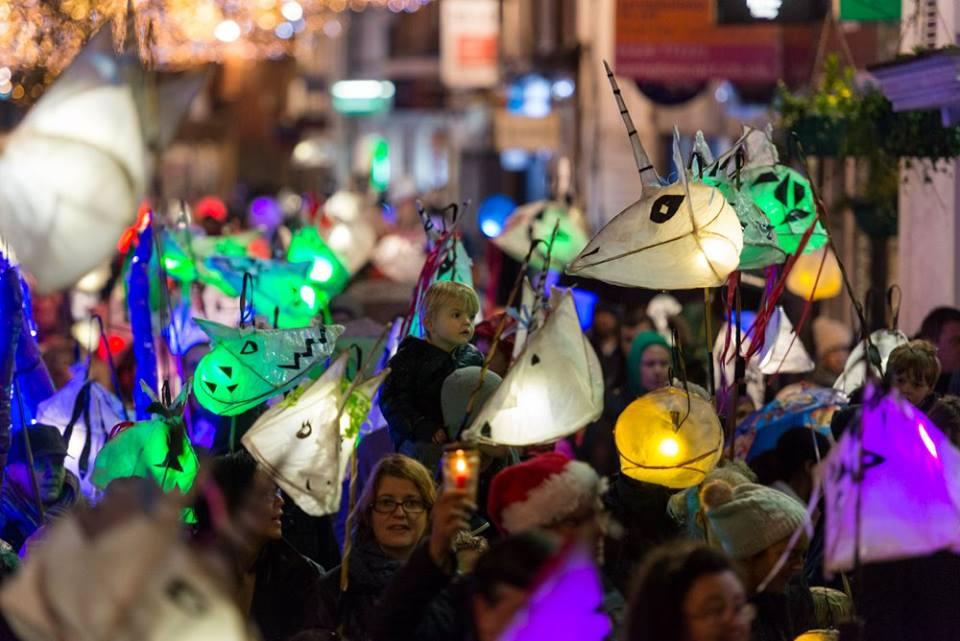 norden farm lantern parade